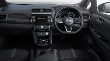 New Nissan Leaf - dash