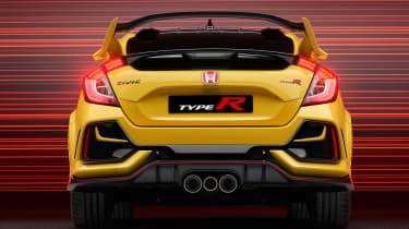Honda Civic Type R Limited Edition - full rear