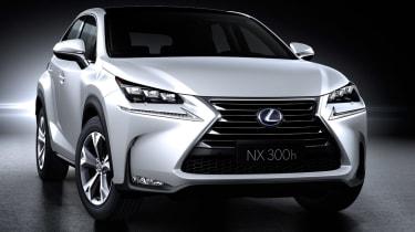 Lexus NX revealed front 2