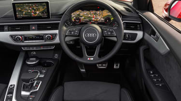Audi S5 Cabriolet UK  dash