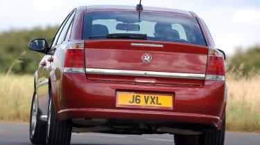 Vauxhall Vectra rear