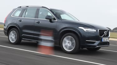 Volvo XC90 almost side profile