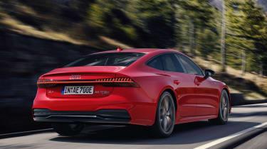 Audi A7 Sportback PHEV - rear action