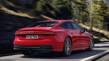 Audi A7 Sportback PHEV - rear action
