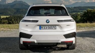 BMW iX - full rear