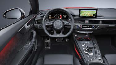 New Audi S5 Cabriolet 2017 dash