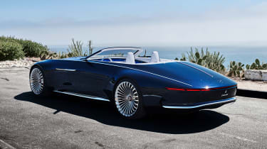 Vision Mercedes-Maybach 6 Cabriolet - rear static