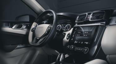 Lynk & Co 02 SUV - interior