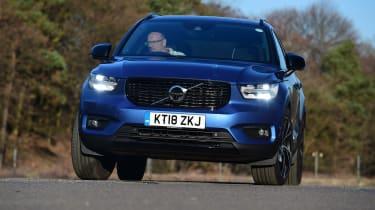 Volvo XC40 - front cornering