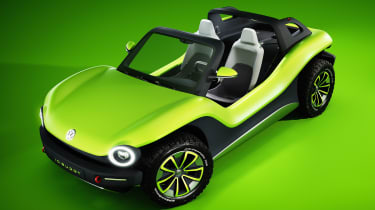 Volkswagen ID. Buggy concept - front above