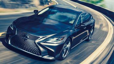 Lexus LS review - front