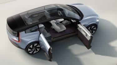 Volvo Concept Recharge - doors open