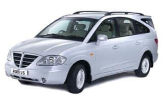 Top 10 worst cars - SsangYong Rodius front quarter