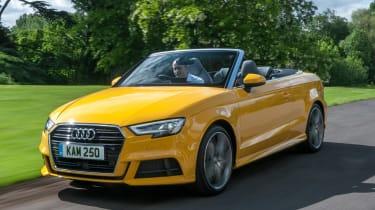 Audi A3 Cabriolet - front