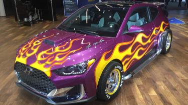 Detroit Motor Show - Hyundai Veloster