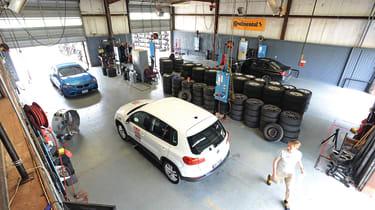 Tyre Test 2019 - workshop