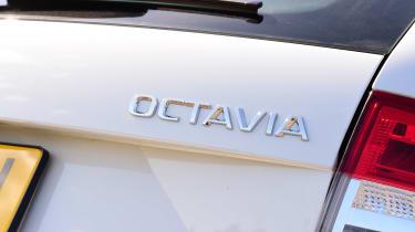 Skoda Octavia Estate - Octavia badge