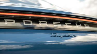 Porsche Taycan RWD - rear badge