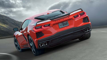 Chevrolet Corvette - rear action