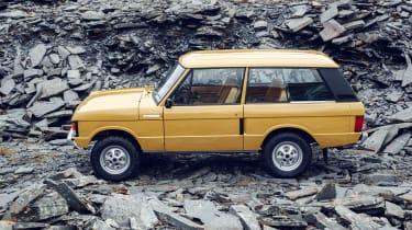 Range Rover Reborn - side static