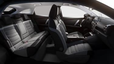 Citroen e-C4 - interior