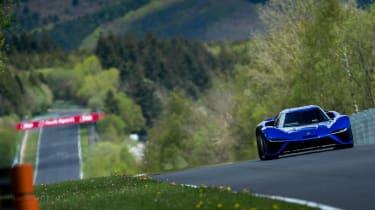 NIO EP9 nurburgring