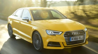 Audi S3 Saloon 2017 - front tracking
