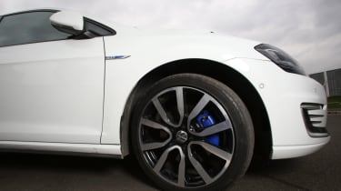 Living with an EV - VW GTE wheel