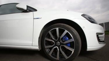 Living with an EV - VW GTE wheel