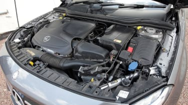 Used Mercedes GLA - engine