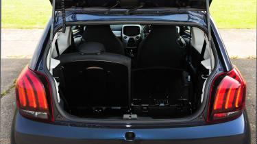 Peugeot 108 boot