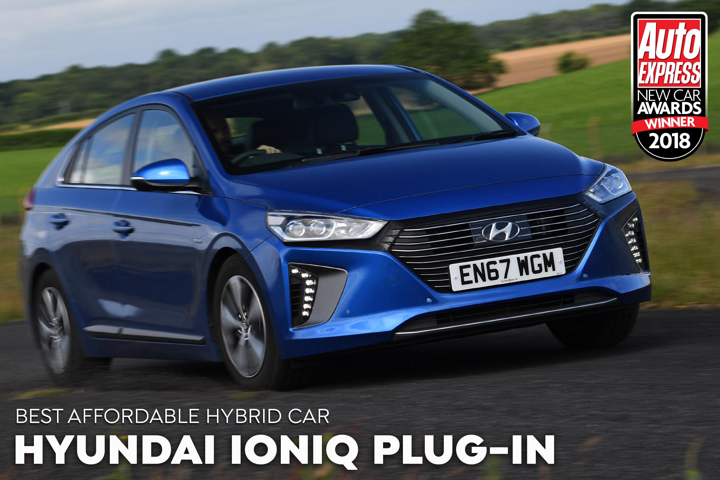 Affordable Hybrid Car Of The Year Hyundai Ioniq Plug In Auto Express