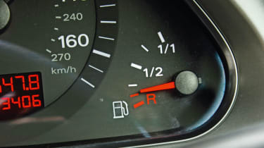 Audi A6 fuel gauge