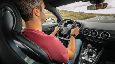 Audi TT S - driving