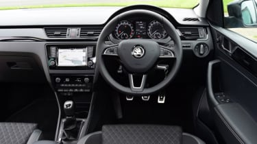Skoda Rapid Spaceback - cockpit