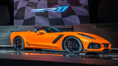 Corvette ZR1 Convertible - side
