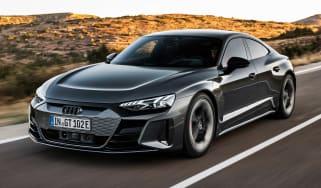Audi RS e-tron GT - front action