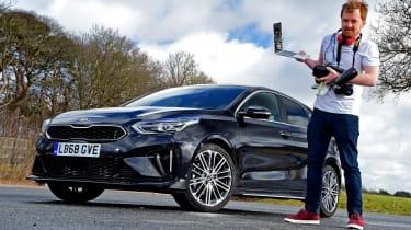 Kia Ceed GT-Line S long termer - first report header