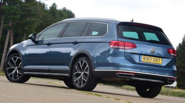 Volkswagen Passat Alltrack - blue rear