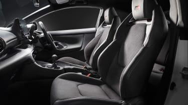 Toyota GR Yaris - seats studio