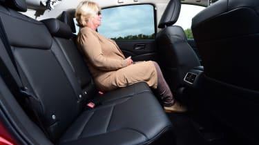 Honda CR-V long-termer legroom