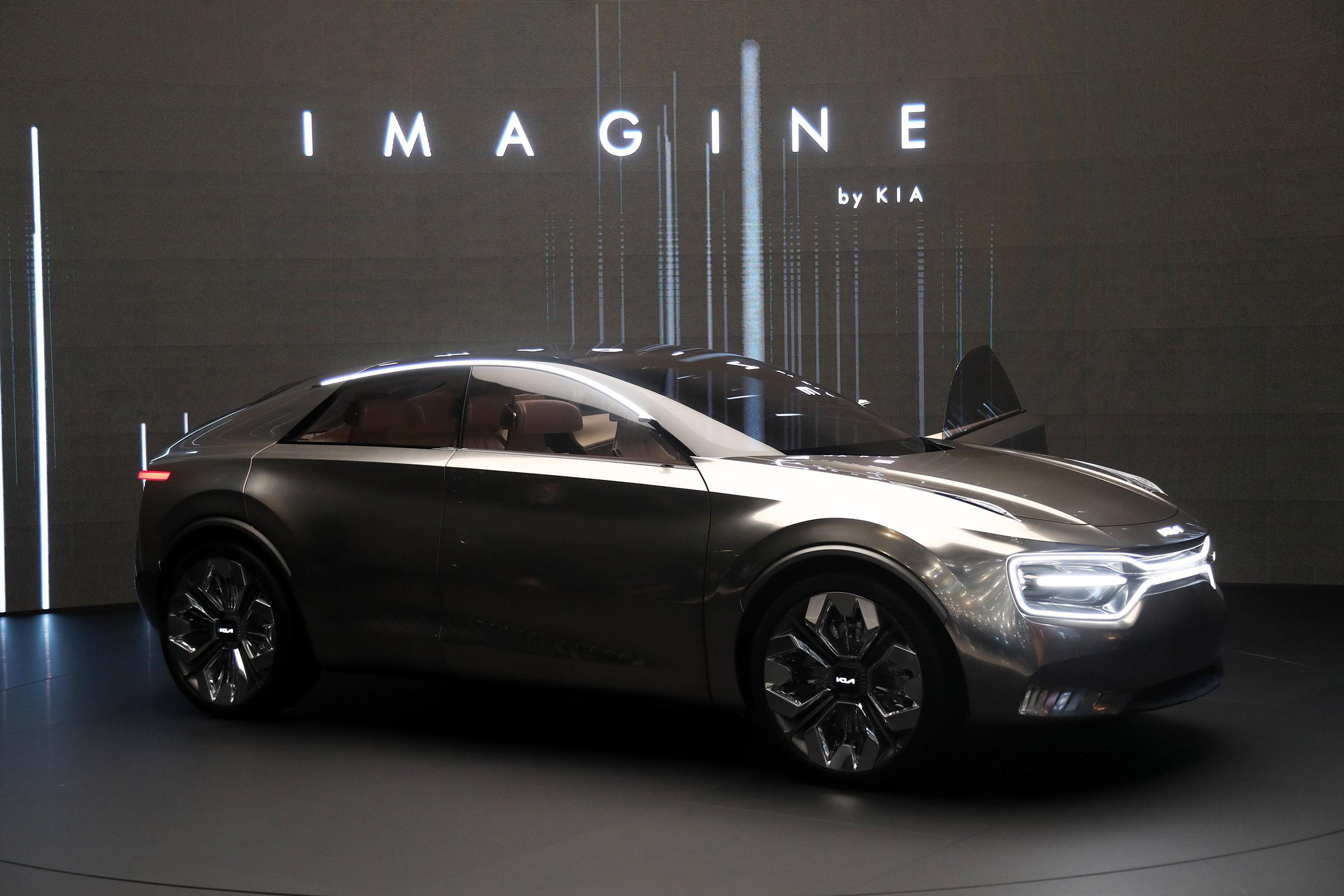 Imagine by Kia will launch as Tesla-fighting halo EV ...