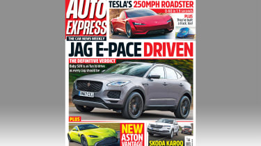 Auto Express Issue 1,500