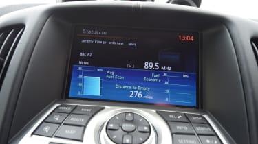 Nissan 370Z GT –infotainment screen