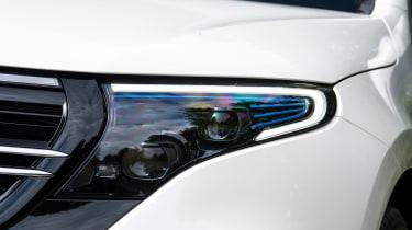 Mercedes EQC - front light