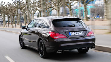 Mercedes CLA 220 CDI Shooting Brake