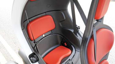 Renault Twizy rear seat