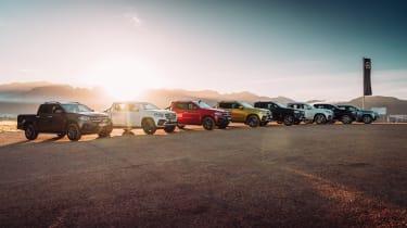 Mercedes X-Class pick-up truck - range
