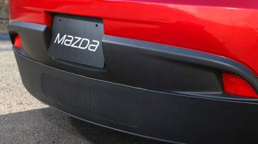 Mazda 2 EV 2013 rear
