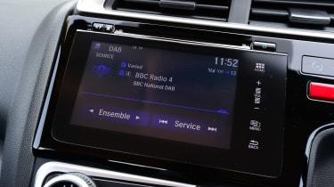 Honda Jazz long-term first report - infotainment screen